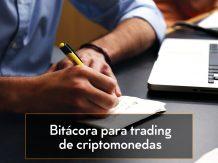 bitácora para trading de criptomonedas