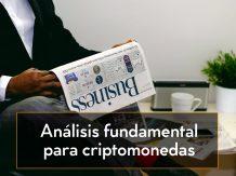 análisis fundamental para criptomonedas